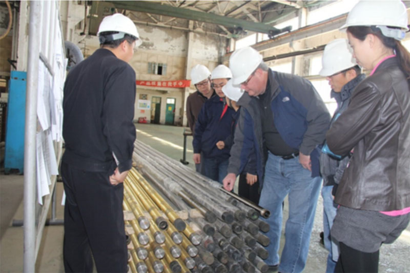 downhole pump barrel manufacturing