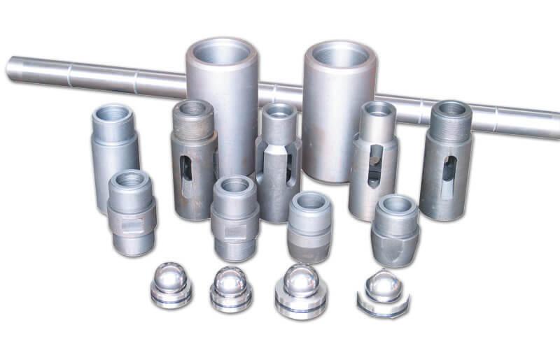downhole pump fittings
