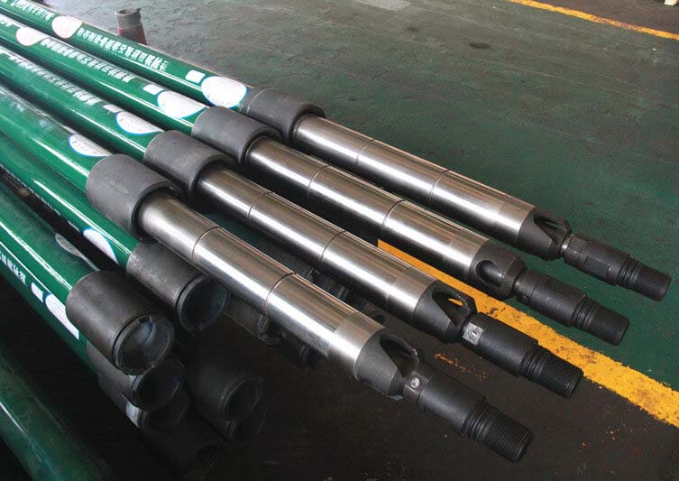 Annulus thermal recovery oil well pump