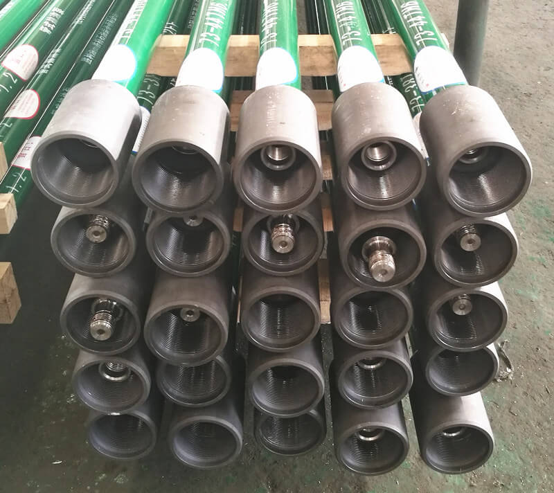 Long plunger and anti falling insert pump