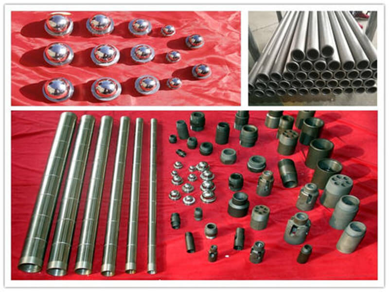 Long plunger and sand stuck prevention artificial lift downhole pump