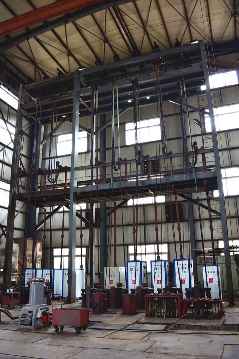 artificial lift downhole pump chrome palting