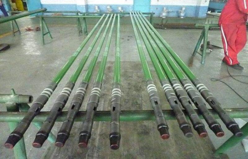 bridge type oil well pump