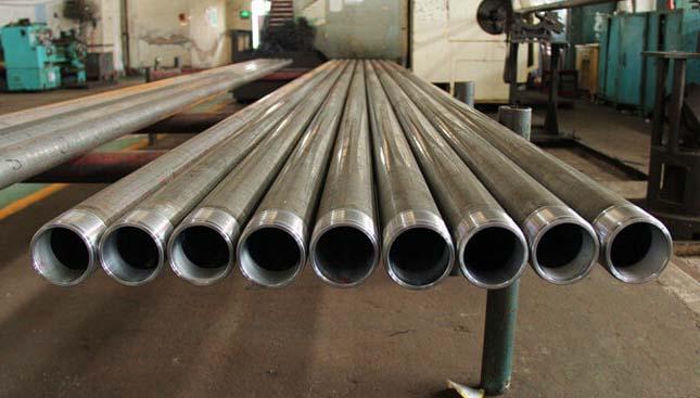 double plunger valve tubing pump barrel