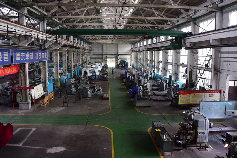 Downhole pump oil and gas machining