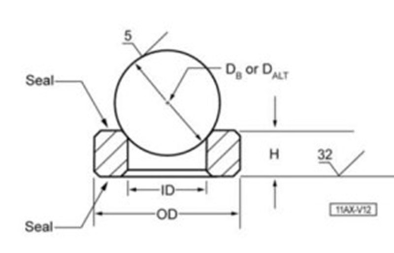 Downhole pump valve ball seat