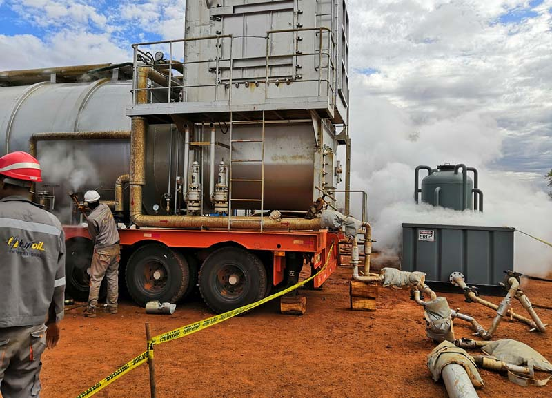 heavy oil thermal recovery