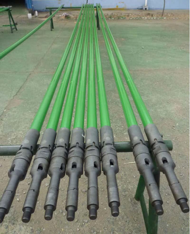 hydraulic feedback sucker rod pump