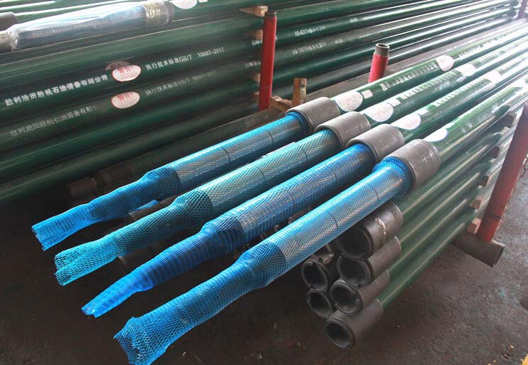 long plunger anti-gas lock and anti sand downhole pump