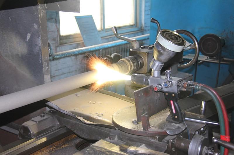 oil well pump spray welding