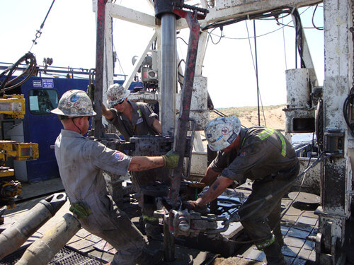 oilfield workover rig