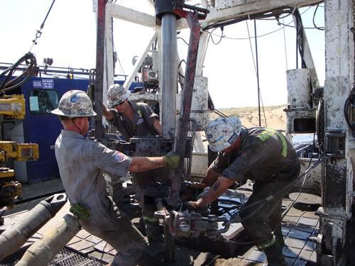 oilfield workover rig