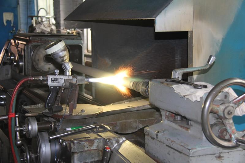 pump oil well spray welding